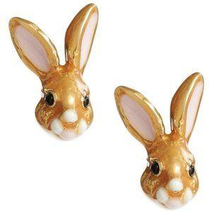 NEW Kate Spade Desert Muse Bunny Stud Earrings